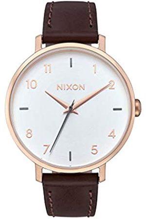 Nixon Reloj Analógico para Mujer de Cuarzo con Correa en Acero Inoxidable A1091-2369-00