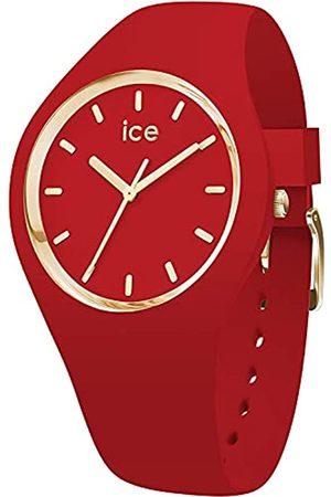 Ice-Watch ICE Glam Colour Red - Reloj para Mujer con Correa de Silicona