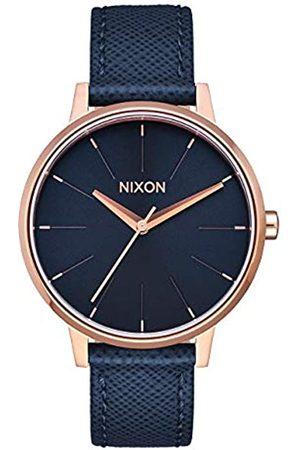 Nixon Reloj Digital para Adultos Unisex de Cuarzo con Correa en Cuero A108-2195-00