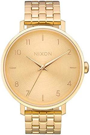 Nixon Reloj Analógico para Mujer de Cuarzo con Correa en Acero Inoxidable A1090-502-00