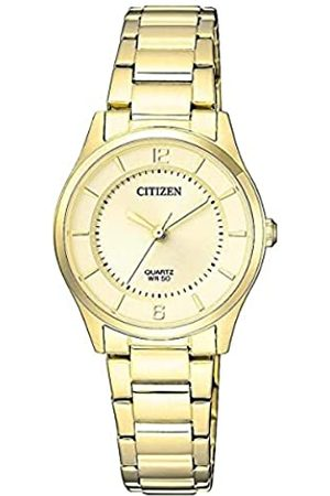 Citizen Reloj Analógico para Mujer de Cuarzo con Correa en Acero Inoxidable ER0203-85P