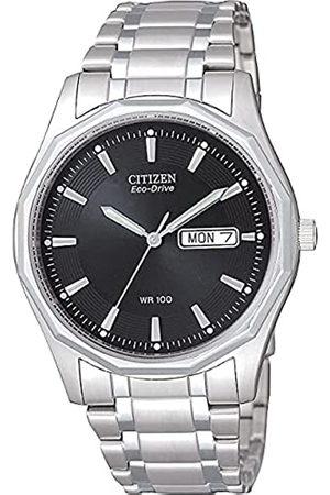Citizen Reloj Analógico para Hombre de Cuarzo con Correa en Acero Inoxidable BM8430-59EE