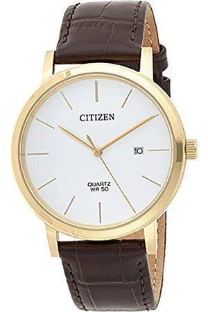 Citizen Reloj Análogo para de los Hombres de Cuarzo con Correa en Cuero BI5072-01A