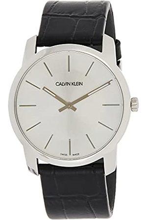 Calvin Klein Reloj Analógico-Digital para Unisex Adultos de Cuarzo con Correa en Cuero K2G221C6