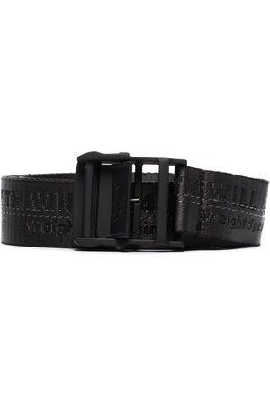 OFF-WHITE Hombre Cinturones - Cinturón con costura en contraste