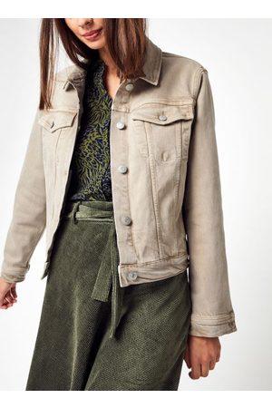 Knowledge Cotton Apparal LILLIAN Natural dye Boxy Workwear Overshirt - GOTS/Vegan