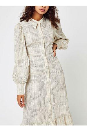 VILA Viemani L/S Midi Shirt Dress