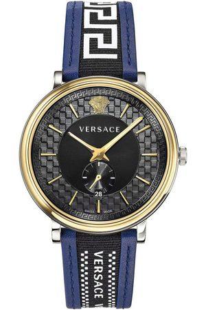 VERSACE Reloj analógico VEBQ01419, Quartz, 42mm, 5ATM para hombre