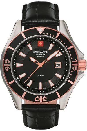 Swiss Alpine Military Reloj analógico Swiss Military 7040.1557, Quartz, 44mm, 10ATM para hombre