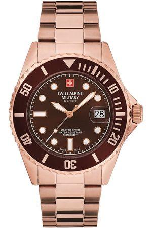 Swiss Alpine Military Reloj analógico Swiss Military 7053.1166, Quartz, 42mm, 10ATM para hombre