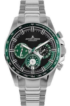 Jacques Lemans Reloj analógico 1-2127G, Quartz, 40mm, 10ATM para hombre