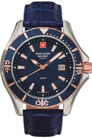 Swiss Alpine Military Reloj analógico Swiss Military 7040.1555, Quartz, 44mm, 10ATM para hombre