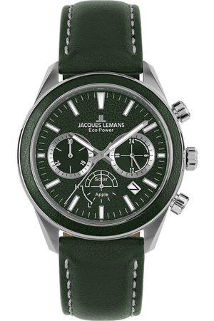 Jacques Lemans Reloj analógico 1-2115D, Quartz, 44mm, 10ATM para hombre