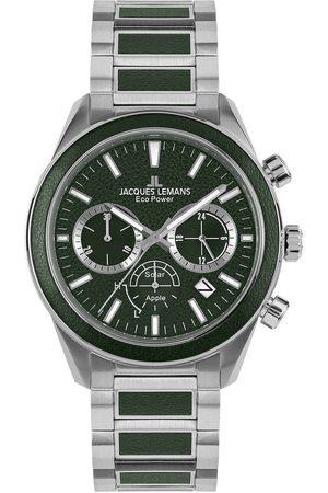 Jacques Lemans Reloj analógico 1-2115G, Quartz, 44mm, 10ATM para hombre