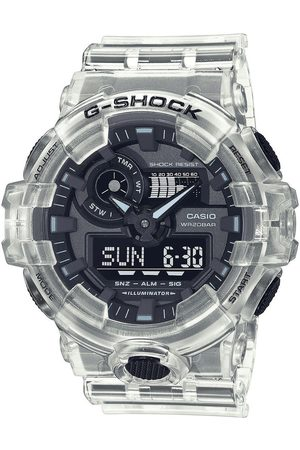 Casio Reloj digital GA-700SKE-7AER, Quartz, 52mm, 20ATM para hombre