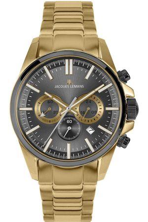 Jacques Lemans Reloj analógico 1-2119H, Quartz, 44mm, 10ATM para hombre
