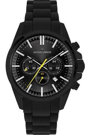 Jacques Lemans Reloj analógico 1-2119F, Quartz, 44mm, 10ATM para hombre
