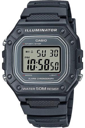 Casio Reloj digital W-218H-8AVEF, Quartz, 43mm, 5ATM para hombre