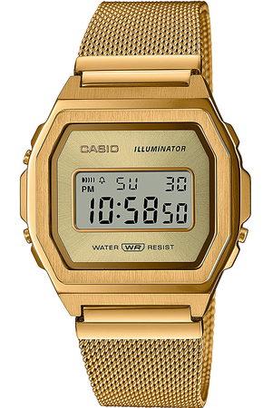 Casio Reloj digital A1000MG-9EF, Quartz, 38mm, 3ATM para hombre