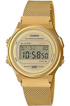 Casio Reloj digital A171WEMG-9AEF, Quartz, 37mm, 3ATM para mujer