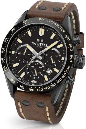 TW steel Reloj analógico CHS1, Quartz, 46mm, 10ATM para hombre