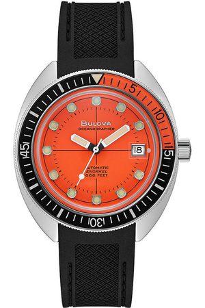 BULOVA Reloj analógico 96B350, Automatic, 41mm, 20ATM para hombre