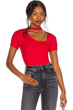 LnA Camiseta horizon en color talla L en - Red. Talla L (también en XS, S, M).