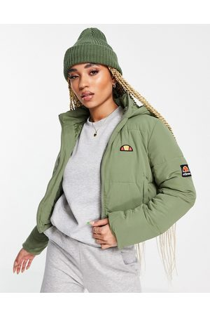 Ellesse Mujer De Invierno - Chaqueta de plumas corta de -Verde