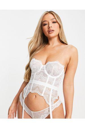 ASOS Mujer Bodies y corpiños - Corsé de novia con cordones de encaje Rosie de