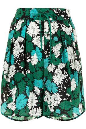 Paul Smith Pantalones cortos con motivo floral