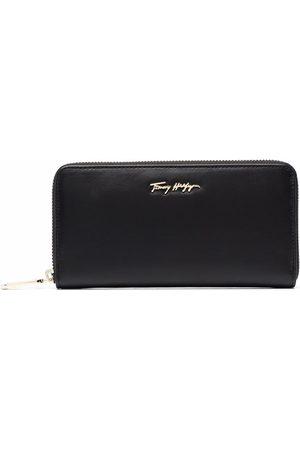 Tommy Hilfiger Logo-plaque leather wallet