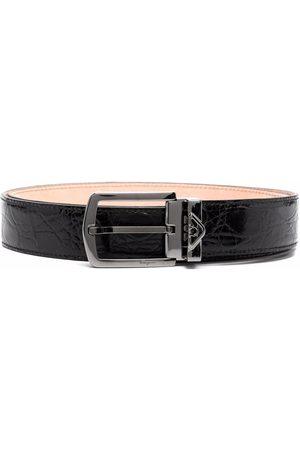 Salvatore Ferragamo Cinturón con diseño arrugado