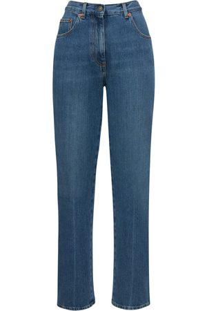 Gucci Mujer Cintura alta - | Mujer Jeans De Denim Blanqueado /mix 24