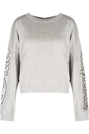 Champion Longsleeve Sweatshirt , Mujer, Talla: S