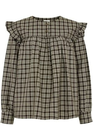 People Tree Helen Checked Blouse , Mujer, Talla: UK 10