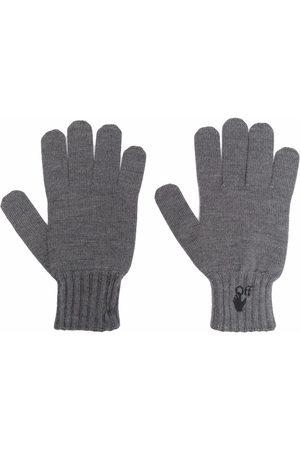 OFF-WHITE Hand Off logo gloves