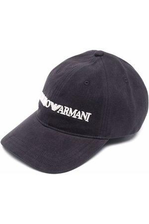 Emporio Armani Embroidered-logo baseball cap