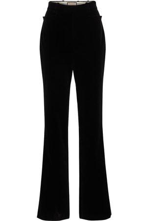 Gucci | Mujer Pantalones De Terciopelo De Algodón 36