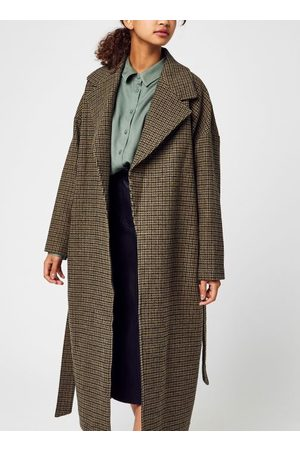 Knowledge Cotton Apparal POPPY Wool Lapel Coat - GRS