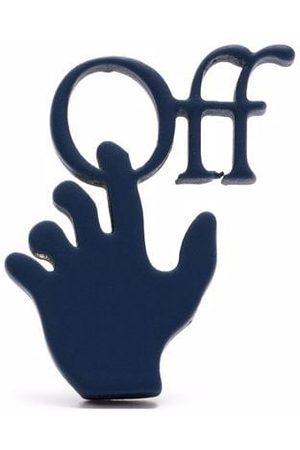 OFF-WHITE Pendiente con logo Hands Off