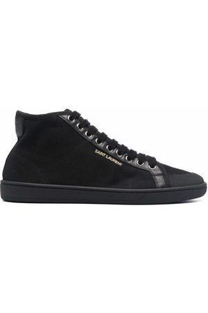 Saint Laurent Mujer Zapatillas deportivas - Zapatillas mid-top con cordones