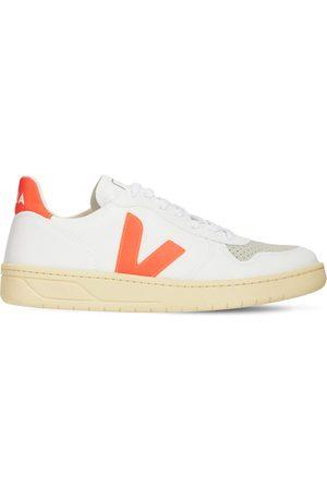 Veja   Mujer Sneakers V-10 De Lona De Algodón /naranja 35