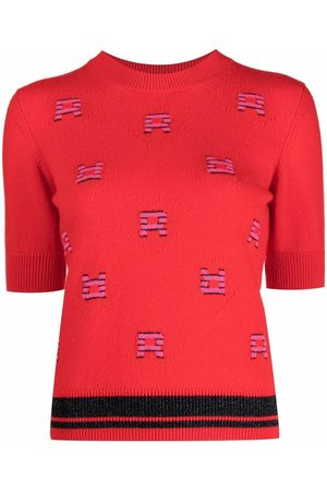 Sonia by Sonia Rykiel Logo-knit T-shirt