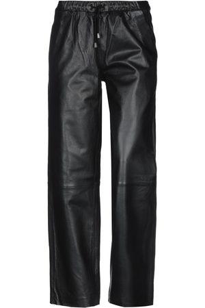Muubaa Mujer Pantalones de cuero - Pantalones