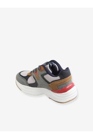 Vertbaudet Zapatillas de múltiples materias estilo running, para niño medio liso